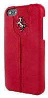Ferrari Montecarlo leather cover case for iPhone 5C