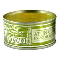 HACENDADO, Хакенадо Тунец в оливковом масле, 80Г