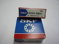 Подшипник 203 закрытый (180203; 6203 2RS) SKF