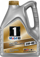 Масло моторное Mobil 1 New Life 0W-40, 4л