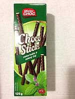 Шоколадные палочки Mister Choc с мятой