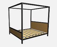 Кровать металлическая КP-NL 2