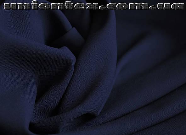 Габардин темно-синий, фото 2