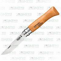 Opinel (опинель) 8 VRN складной нож Carbone (00402)