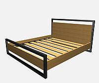 Кровать металлическая КP-NL 3
