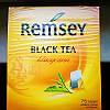 """Чай черный пакетированный """"Remsey"""" Ремсей"""