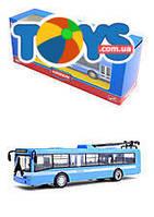 Металлическая модель троллейбуса «Автопарк», 6407B