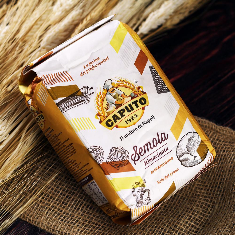 Мука semola rimacinata Caputo 1 кг - Магазин вкуса в Киеве