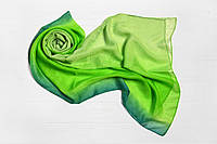 Шарф Меланья переход зеленый