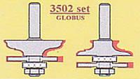 """Фрезы 3502 set  d12 концевые  """"GLOBUS""""  (Мебельная обвязка)"""