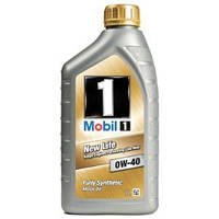 Масло моторное Mobil 1 New Life 0W-40, 1л