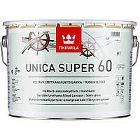 Лак яхтный  Unica Super Tikkurila полуглянцевый  2,7 л