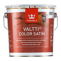 Лессирующий антисептик для дерева Валтти Колор Сатин ( Valtti Color Satin Tikkurila) ЕС 2,7 л