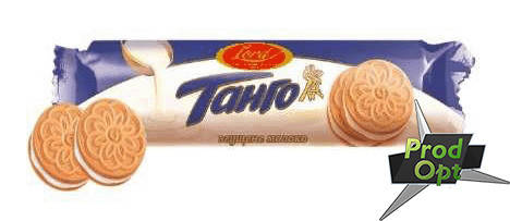 Печиво фасоване Танго згущене молоко 75 г, фото 2