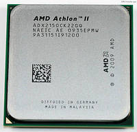 Процесор AMD Athlon II X2 215 ( AM3, 2.7 GHz, 1 Mb L2)