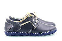 Спортивные женские синие туфли 39-01с