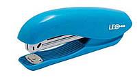 Степлер №24/6, 26/6 20л пласт.L3014-05 голубой600195