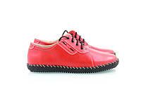 Спортивные женские красные туфли 39-02, фото 1