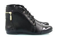 Кожаные ботинки 0515-07ч, фото 1