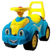 Автомобиль для прогулок голубой Технок 3510