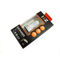 Автомобильная USB зарядка от прикуривателя 12v CAR USB HC-1 LCD