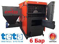 Пеллетный котел Emtas  EK3G-CSОА/S-220, 256 кВт, 6 бар, 2 шнека