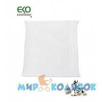 EKO Плед DW-03 Хлопок белый 70x80 см (PLE-03.01)