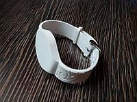 Заготовка ключа силиконовый браслет для домофона RFID 5577  Цвет белый