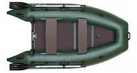 Моторно-гребная надувная килевая лодка Колибри КМ-280DL Лайт