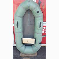 Лодка резиновая  из ткани бцк язь  одноместная ,грузоподъемность 120 кг.
