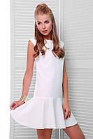 Платье с открытой спиной БИЛЛИ белое