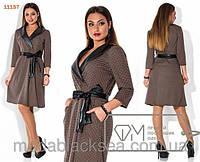 Женское платье для пышных дам. Код-272-Кл-54р