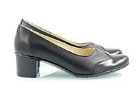 Черные туфли на каблучке 4002-15, фото 1