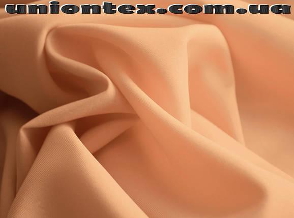 Габардин персиковый, фото 2