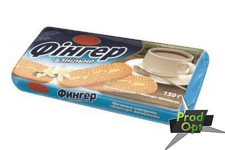 Печиво Фінгер ваніль 150 г, фото 2