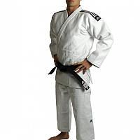 Кимоно для дзюдо Adidas Champion 2 (IJF) белое. 2015