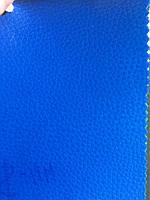 Мебельный кожзаменитель темно синий