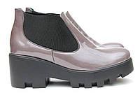 Модные лакированные туфли 3216-03