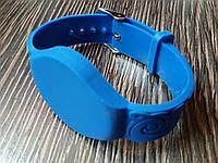 Заготовка ключа силиконовый браслет для домофона RFID 5577  Цвет синий