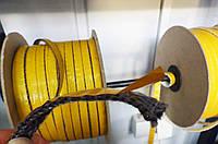 Самоклеющийся жаропрочный уплотнительный шнур 2х15 мм