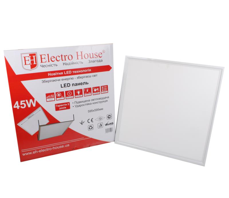 Светодиодный светильник LED 36W 600х600мм 4100К 2800 Lm (595x595mm)