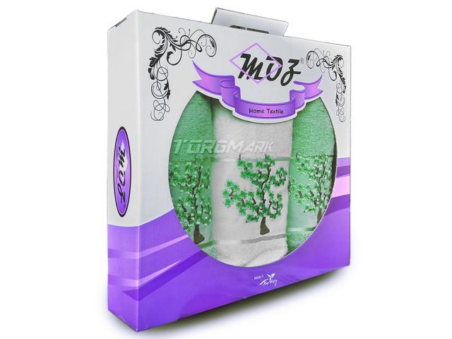 Набор полотенец махровых Moz - 100% хлопок - Турция