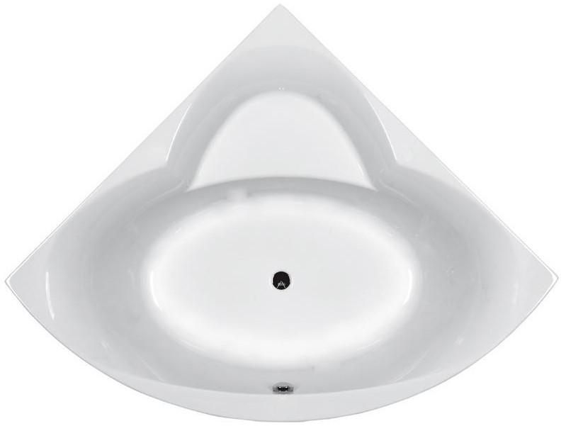 RELAX ванна угловая 150*150 см, с ножками