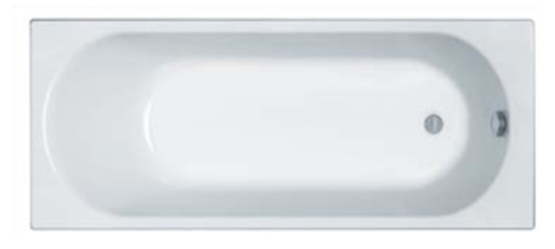 OPAL PLUS ванна прямоугольная 150*70 см, с ножками