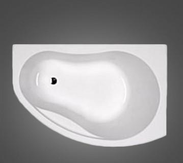 PROMISE ванна асимметричная 170*110 см, правая, c ножками