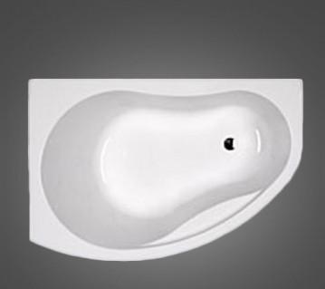 PROMISE ванна асимметричная 170*110 см, левая, с ножками