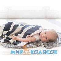 Одеяло ELODIE DETAILS Organic Cotton Knitted Blanket zebra sunshine