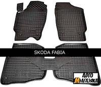 Коврики полиуретановые для Skoda Fabia I (1999-2007) (Avto-Gumm)