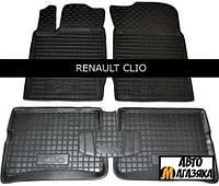 Коврики полиуретановые для Renault Clio III (Avto-Gumm) 2006 - 2012