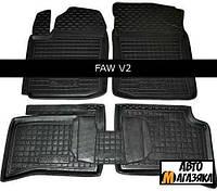 Коврики полиуретановые для FAW V 2 2012- (Avto-Gumm)